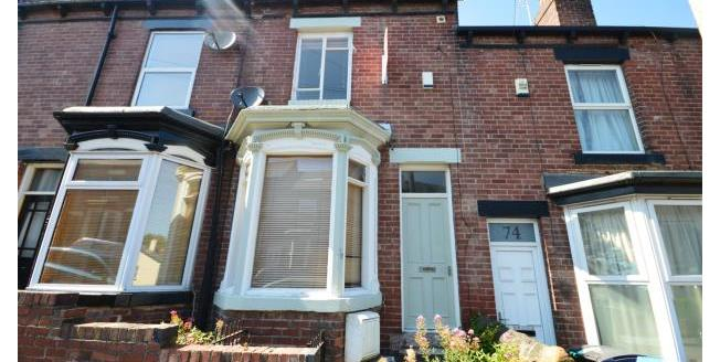£950 per Calendar Month, 4 Bedroom Terraced House To Rent in Sheffield, S11