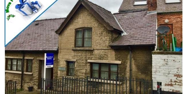 £449 per Calendar Month, 2 Bedroom House To Rent in Ruthin, LL15