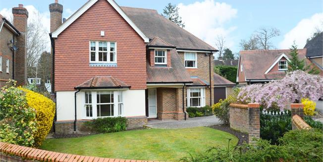 £4,250 per Calendar Month, 4 Bedroom Detached House To Rent in Cobham, KT11