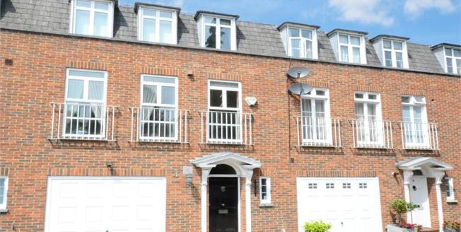 £1,600 per Calendar Month, 4 Bedroom Town House To Rent in Esher, KT10