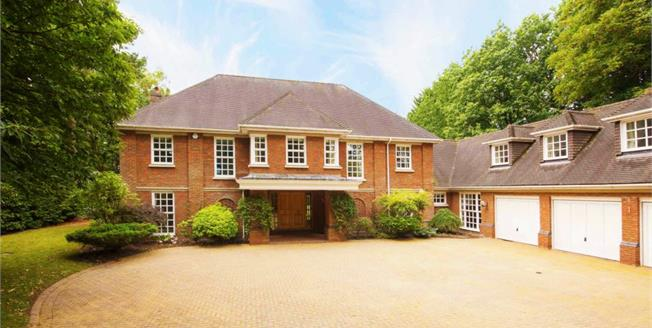 £5,995 per Calendar Month, 5 Bedroom Detached House To Rent in St Georges Hill, KT13