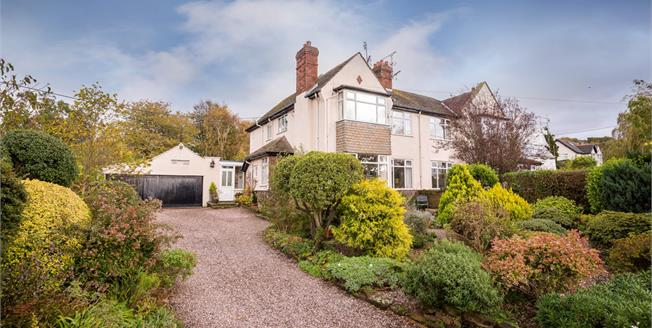 Asking Price £420,000, 4 Bedroom Semi Detached House For Sale in Cheshire, CH64