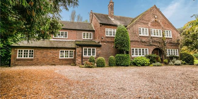 Asking Price £1,250,000, 5 Bedroom Detached House For Sale in Cheshire, CH64