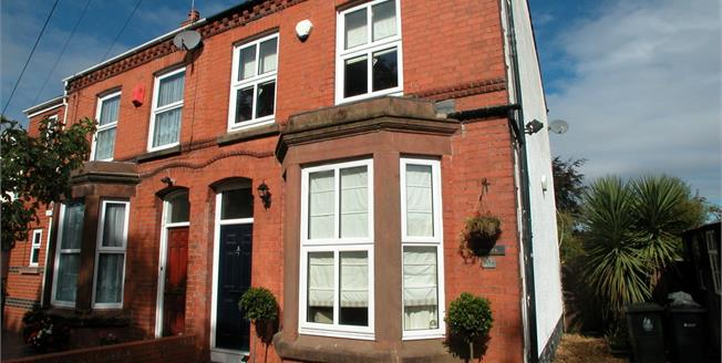 Offers Over £295,000, 3 Bedroom Semi Detached House For Sale in Cheshire, CH64