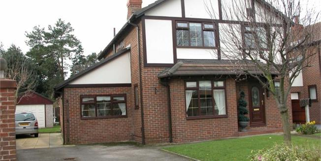 Asking Price £370,000, 4 Bedroom Detached House For Sale in Crosby, L23
