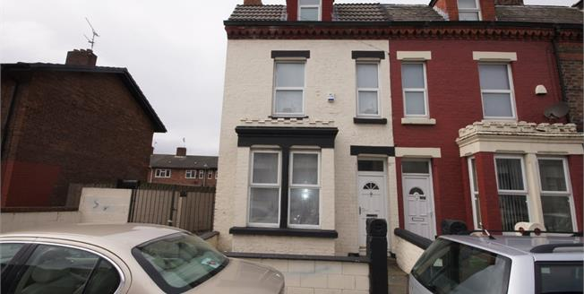 Asking Price £89,000, 4 Bedroom End of Terrace House For Sale in Liverpool, L21