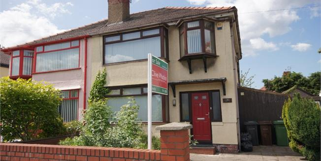 Asking Price £175,000, 3 Bedroom Semi Detached House For Sale in Liverpool, L20