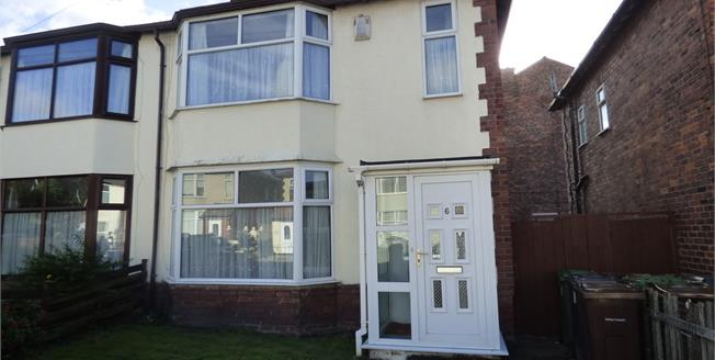 Asking Price £160,000, 3 Bedroom Semi Detached House For Sale in Liverpool, L22