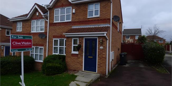 Asking Price £160,000, 3 Bedroom Semi Detached House For Sale in Liverpool, L21
