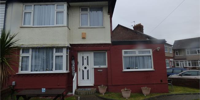 Asking Price £190,000, 3 Bedroom Semi Detached House For Sale in Liverpool, L23