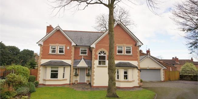 Asking Price £500,000, 4 Bedroom Detached House For Sale in Prenton, CH43