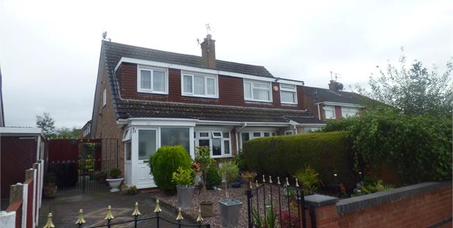 Asking Price £157,950, 3 Bedroom Semi Detached House For Sale in Prenton, CH43