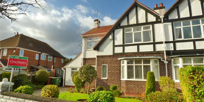Offers Over £220,000, 3 Bedroom Semi Detached House For Sale in Birkenhead, CH42