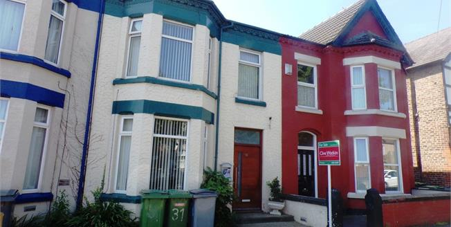 Asking Price £130,000, 3 Bedroom Terraced House For Sale in Birkenhead, CH42