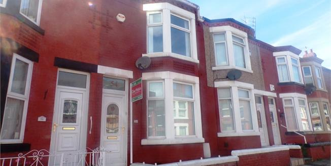 Asking Price £65,000, 3 Bedroom Terraced House For Sale in Tranmere, CH42