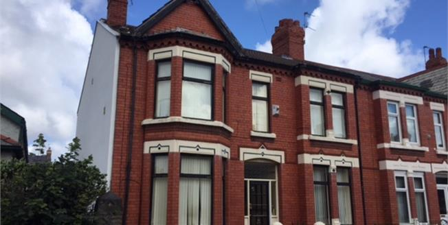 Asking Price £125,000, 5 Bedroom End of Terrace House For Sale in Wallasey, CH44