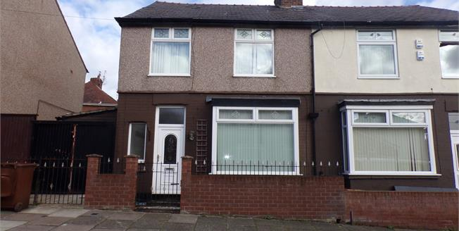 Asking Price £75,000, 3 Bedroom Semi Detached House For Sale in Wallasey, CH44