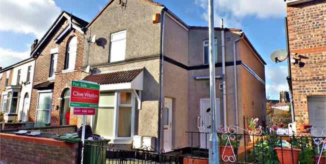Offers in excess of £90,000, 2 Bedroom Semi Detached House For Sale in Birkenhead, CH42