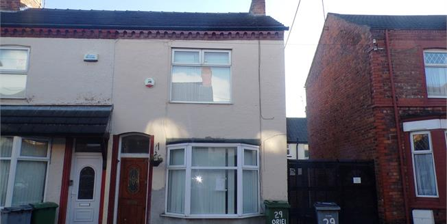 Asking Price £49,500, 2 Bedroom End of Terrace House For Sale in Birkenhead, CH42