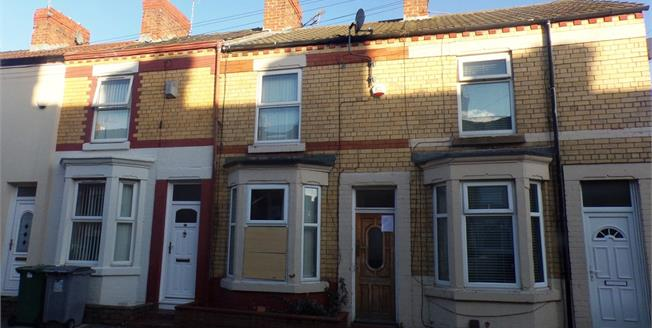 Asking Price £35,000, 2 Bedroom Terraced House For Sale in Birkenhead, CH42