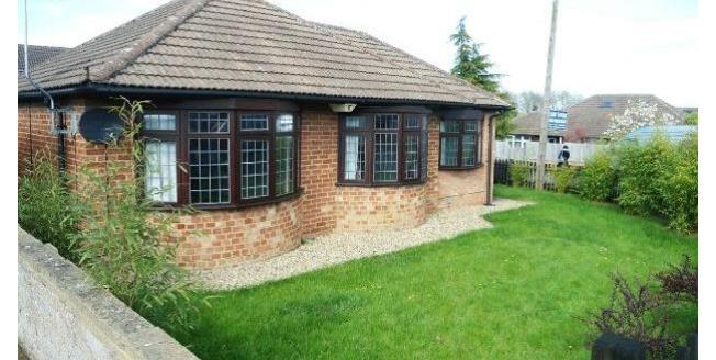£850 per Calendar Month, 2 Bedroom Bungalow To Rent in Northampton, NN3
