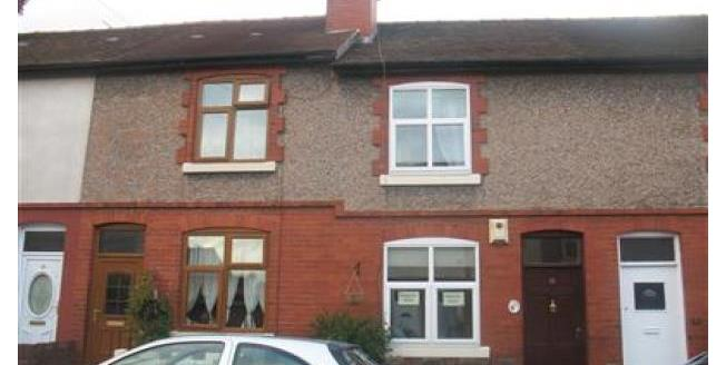 £500 per Calendar Month, 2 Bedroom House To Rent in Uttoxeter, ST14