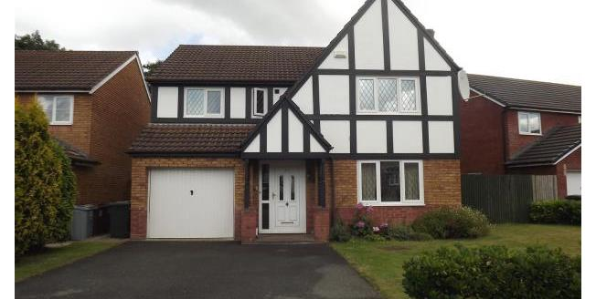£1,100 per Calendar Month, 4 Bedroom House To Rent in Holmes Chapel, CW4