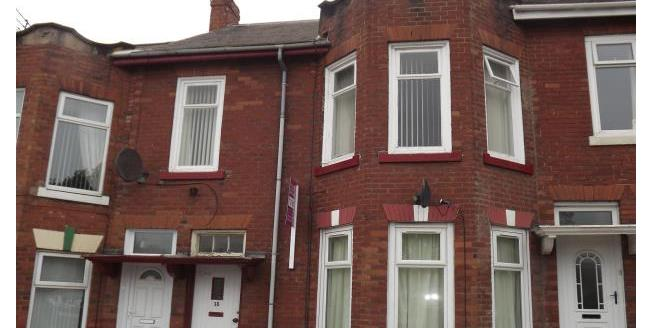 £465 per Calendar Month, 2 Bedroom Flat To Rent in South Shields, NE33