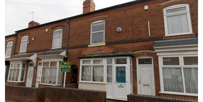 £850 per Calendar Month, 4 Bedroom Terraced House To Rent in Selly Oak, B29