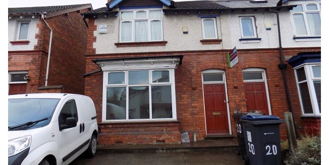 £1,582 per Calendar Month, 6 Bedroom House To Rent in Selly Oak, B29