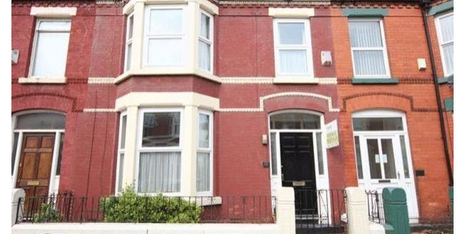 £800 per Calendar Month, 4 Bedroom House To Rent in Liverpool, L18
