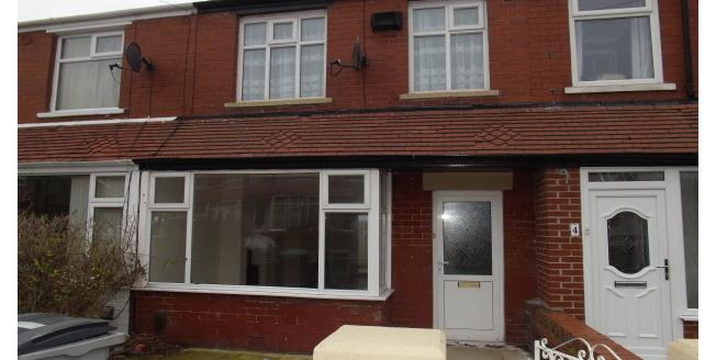 £600 per Calendar Month, 3 Bedroom Terraced House To Rent in Blackpool, FY4