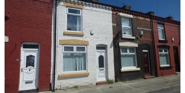 £400 per Calendar Month, 2 Bedroom Terraced House To Rent in Liverpool, L4