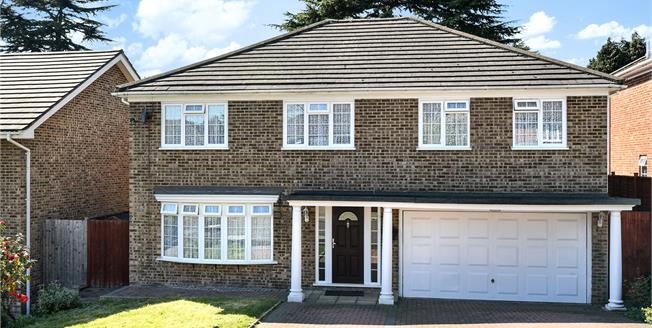 Asking Price £975,000, 5 Bedroom Detached House For Sale in Bromley, BR1