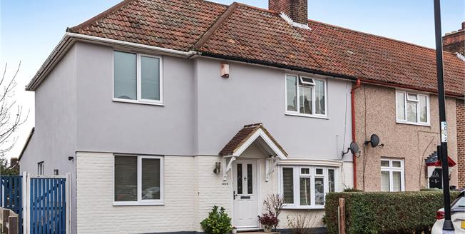 Guide Price £550,000, 4 Bedroom End of Terrace House For Sale in Bromley, BR1