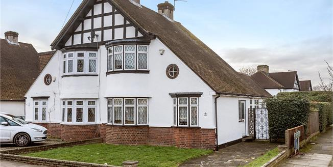 Guide Price £535,000, 3 Bedroom Semi Detached House For Sale in Bromley, BR1