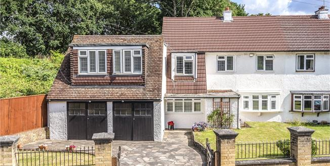 £650,000, 4 Bedroom Semi Detached House For Sale in Bromley, BR1