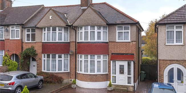 Offers in excess of £480,000, 3 Bedroom Semi Detached House For Sale in Chislehurst, BR7