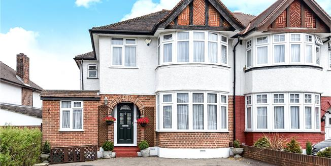 Offers in the region of £570,000, 4 Bedroom Semi Detached House For Sale in Chislehurst, BR7