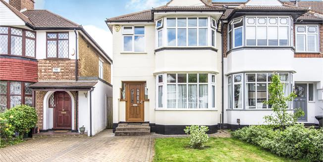 Guide Price £525,000, 3 Bedroom End of Terrace House For Sale in Chislehurst, BR7