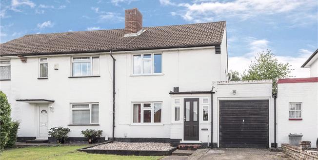 Asking Price £440,000, 3 Bedroom Semi Detached House For Sale in Chislehurst, BR7