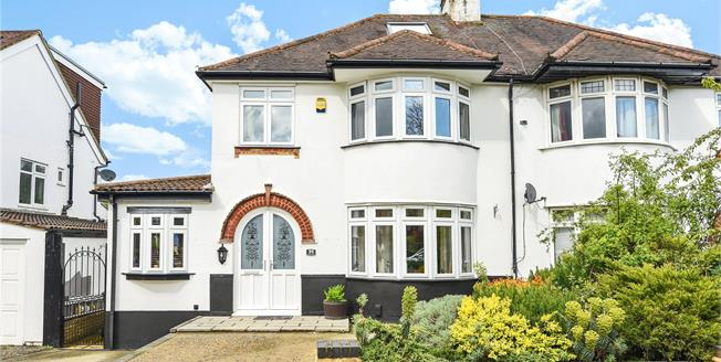 Guide Price £575,000, 4 Bedroom Semi Detached House For Sale in Orpington, BR6