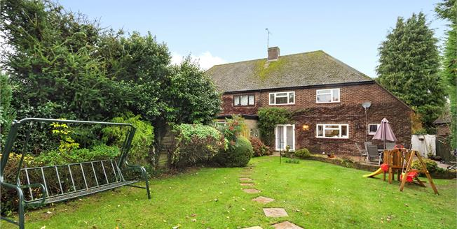 Guide Price £525,000, 3 Bedroom Semi Detached House For Sale in Orpington, BR6