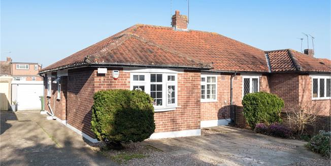 Guide Price £400,000, 2 Bedroom Semi-Detached Bungalow For Sale in Orpington, BR6