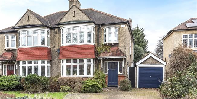 Asking Price £625,000, 3 Bedroom Semi Detached House For Sale in Croydon, CR0