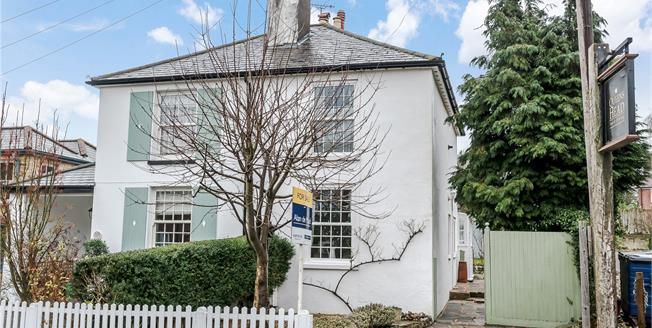 Asking Price £525,000, 2 Bedroom Semi Detached House For Sale in Downe, BR6