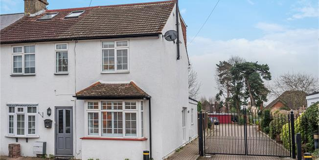 Guide Price £495,000, 3 Bedroom End of Terrace House For Sale in Orpington, BR6