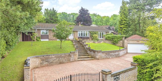 Asking Price £980,000, 4 Bedroom Detached Bungalow For Sale in Kent, TN14