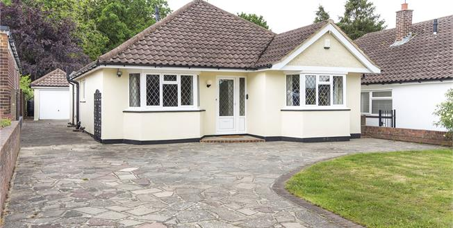 Asking Price £675,000, 3 Bedroom Detached Bungalow For Sale in Orpington, BR6
