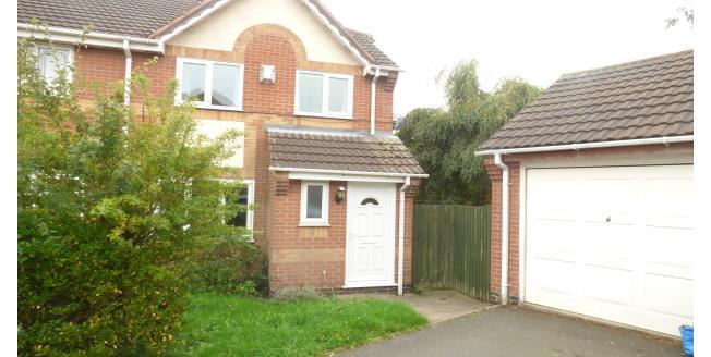 £650 per Calendar Month, 3 Bedroom Semi Detached House To Rent in Ashby-de-la-Zouch, LE65